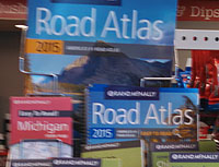 2015 Rand McNally Road Atlas and maps