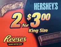 Hershey Reese King Size