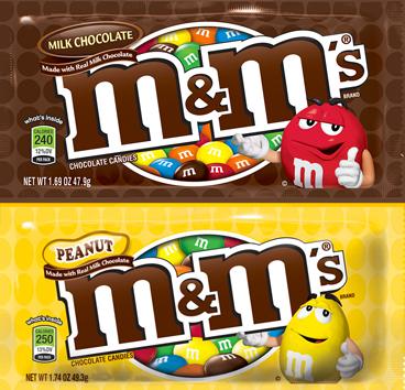 M&Ms Plain or Peanut
